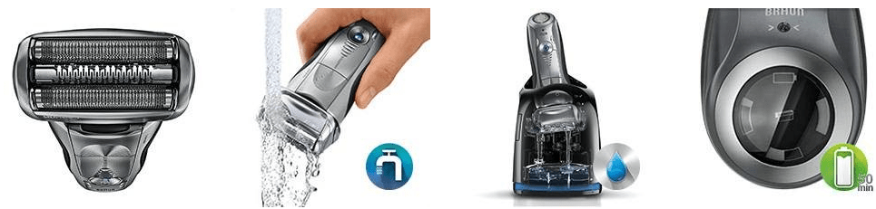 Braun Cordless Electric Foil Shaver