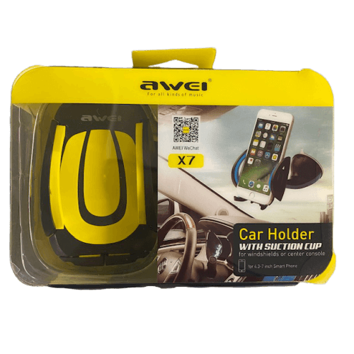 awei_x7_suction_cup_car_holder