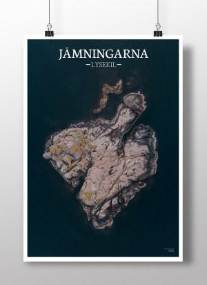 Poster av holmen Jämningarna