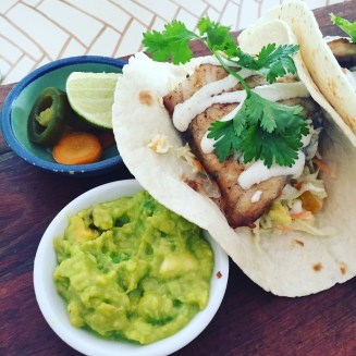 still dreaming of the baja-style fish tacos