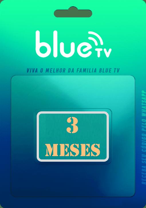 blue tv 3 meses