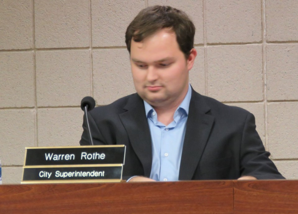 Newly Appointed St. Clair City Superintendent Warren Rothe