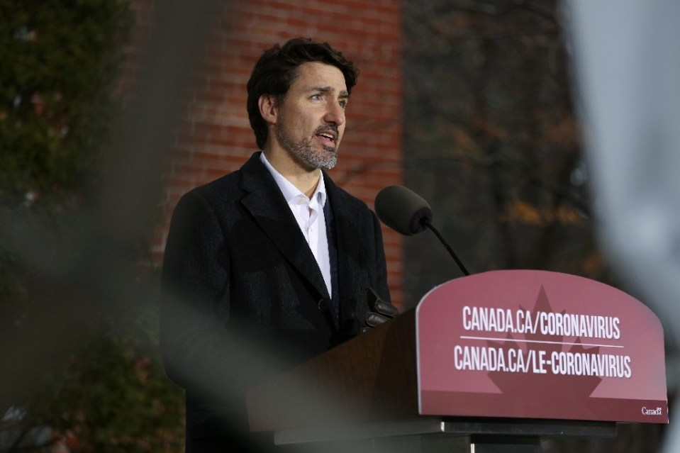 Canadian Prime Minister Justin Trudeau plans to keep working from home as much as possible during the coronavirus crisis - Dave Chan / ©AFP