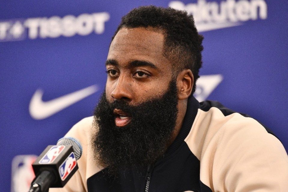 """James Harden says he will form an """"unselfish"""" alliance with new Brooklyn Nets team-mates Kevin Durant and Kyrie Irving - TOSHIFUMI KITAMURA / ©AFP"""