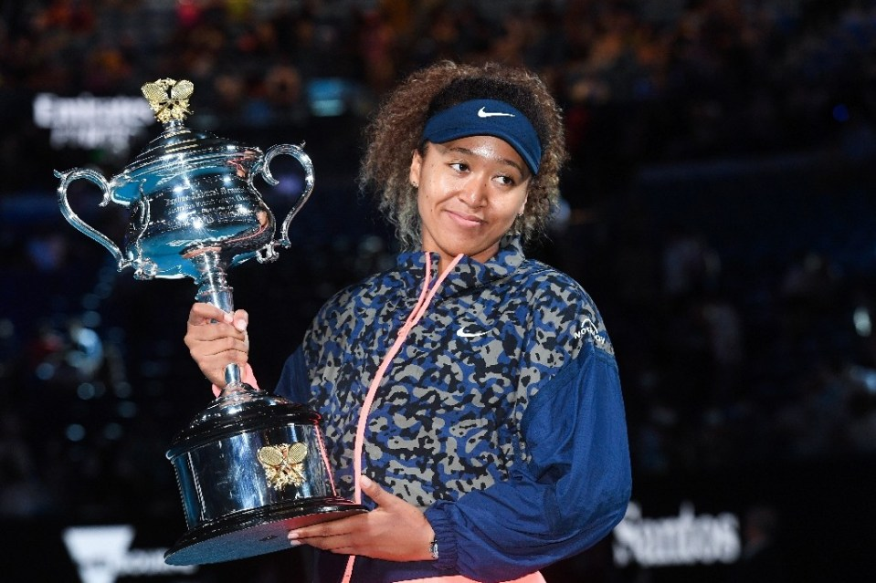 Japan's Naomi Osaka won the Australian Open for the second time - William WEST / ©AFP