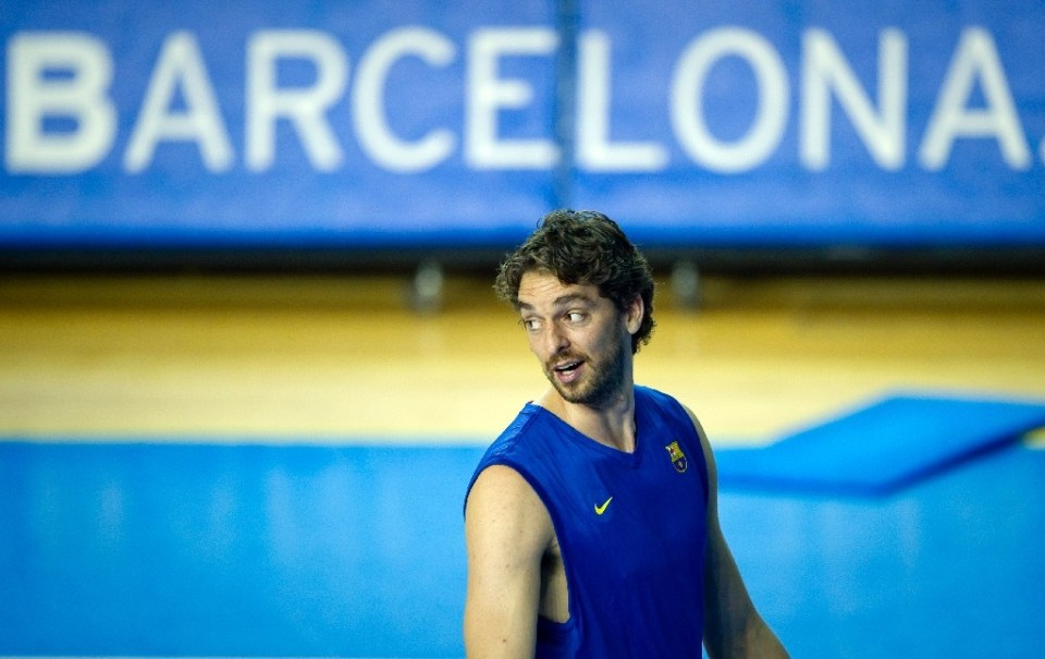 Pau Gasol will rejoin Barcelona after 18 years in the NBA - Josep LAGO / ©AFP