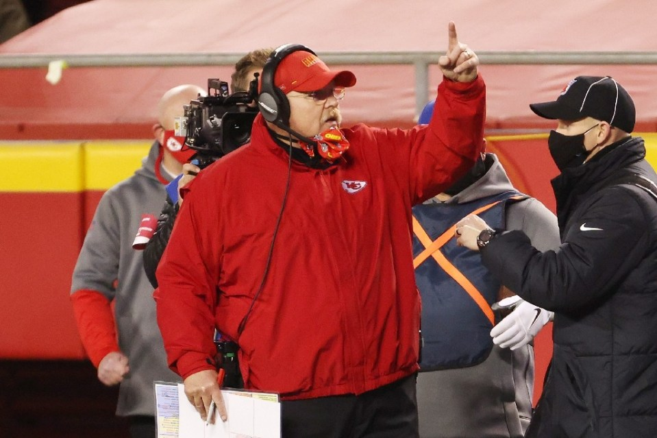 Kansas City Chiefs head coach Andy Reid has transformed the franchise into a potential dynasty - JAMIE SQUIRE / ©AFP