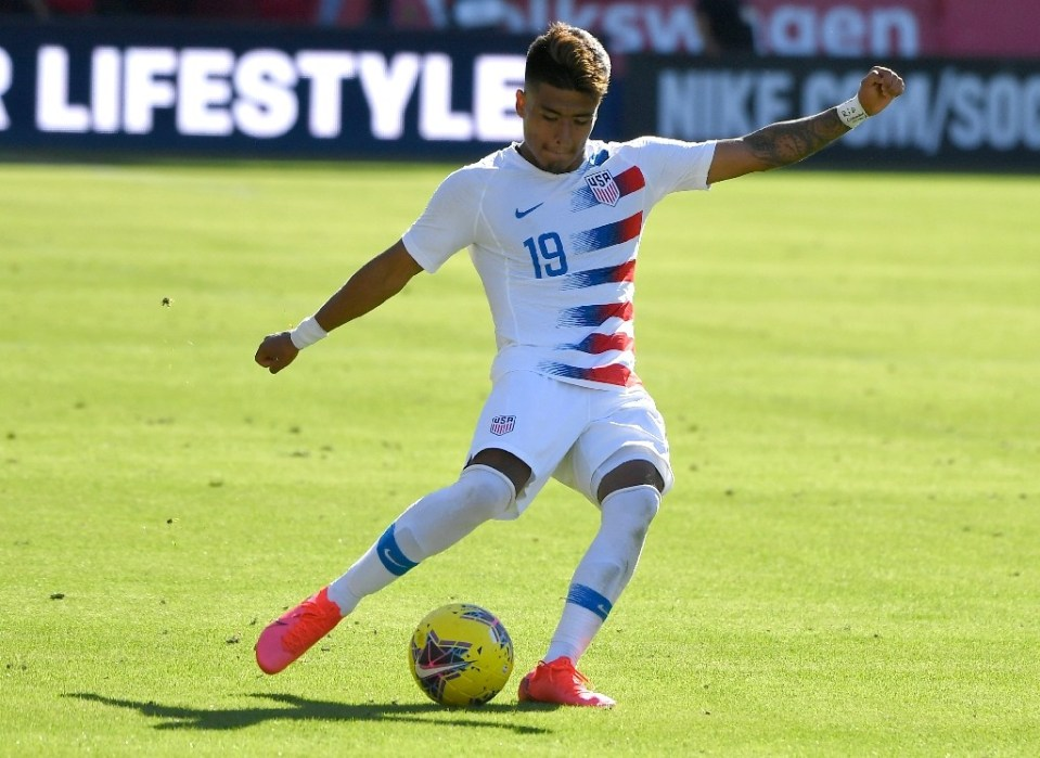 Teen striker Ulysses Llanez was among 20 players named Thursday to the United States under-23 squad for the North American Olympic men's football qualifying tournament that starts next Thursday in Mexico - John MCCOY / ©AFP