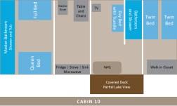 Cabin 10 Layout