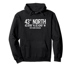 43 degrees north hoodie