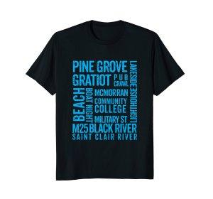 port huron tee shirt