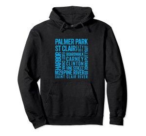 st clair blk hoodie