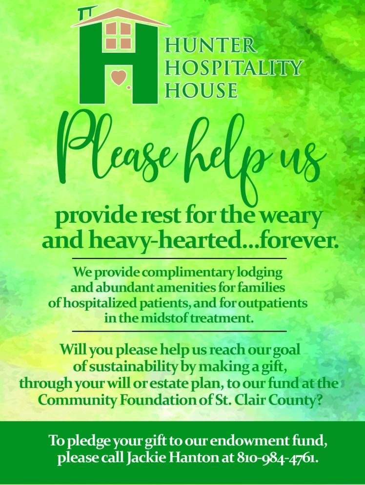hunter hospitality house--quarter page ad--06-20-2019--300