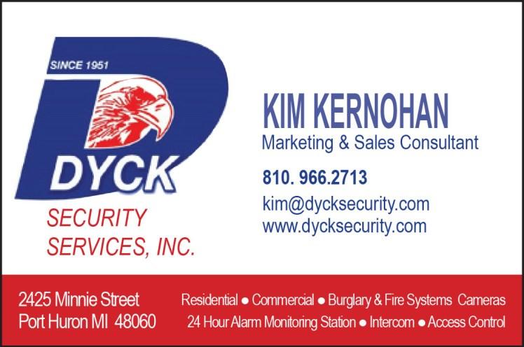 kim kernohan dyck security ad.indd