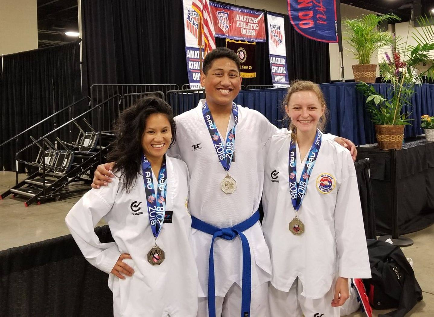 AAU Nationals - Our Blue Belts