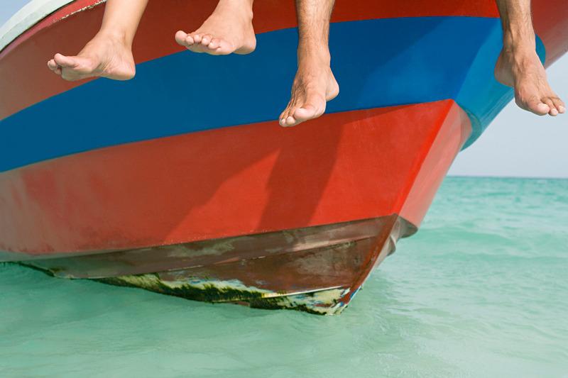 Bluey Mobile podiatry boat feet