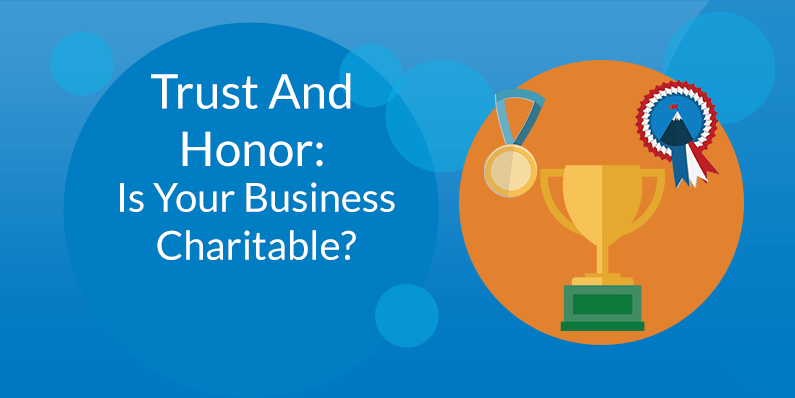 Is Your Business Charitable?