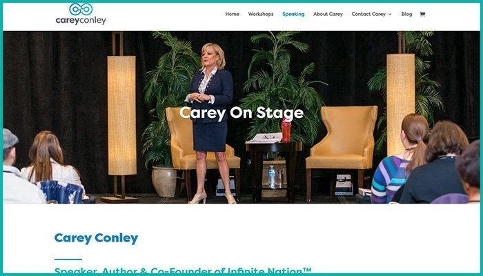 Carey Conley Website