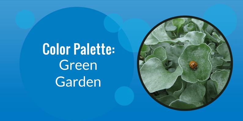 Color Palette: Green Garden