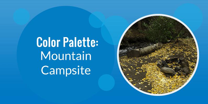 Color Palette: Mountain Campsite