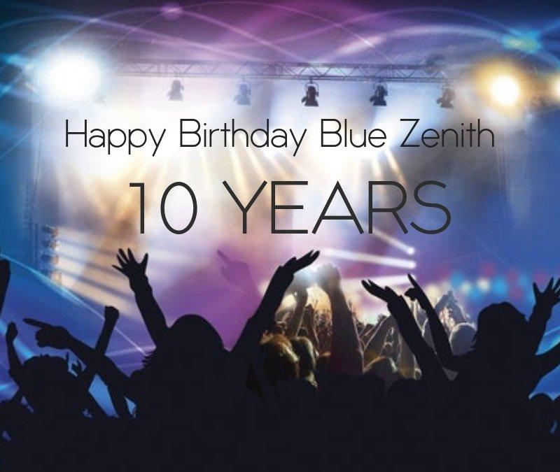 Happy Birthday Blue Zenith!