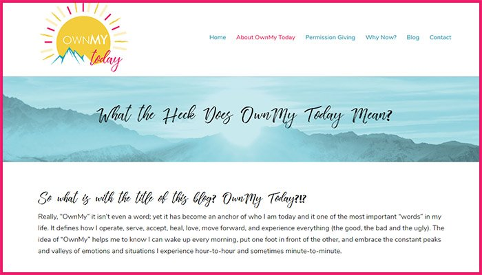 OwnMy Today Website