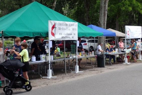 BUMM Mayfest Booth