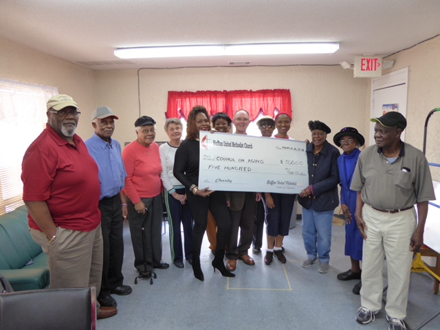 BUMM donation to Beaufort Council on Ageing