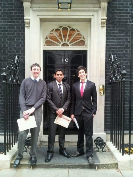 In 10 Downing Street, the U.K.