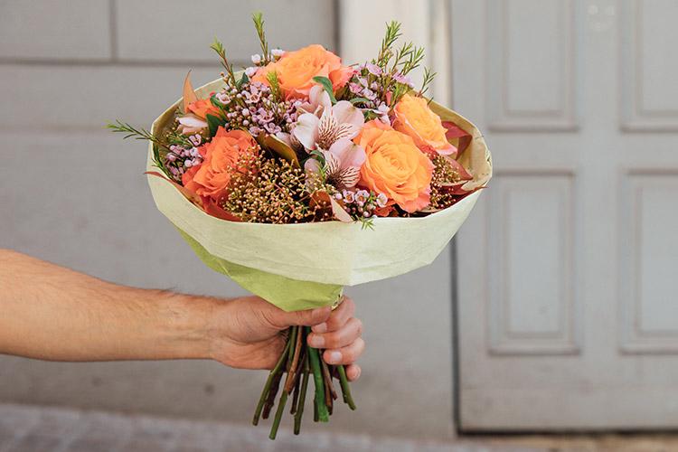 Das Geschenk Blumen-Abo in der Stadt Zürich