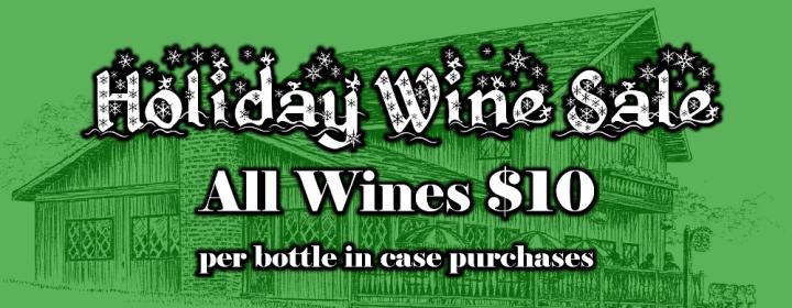 Holiday Wine Sale 2017