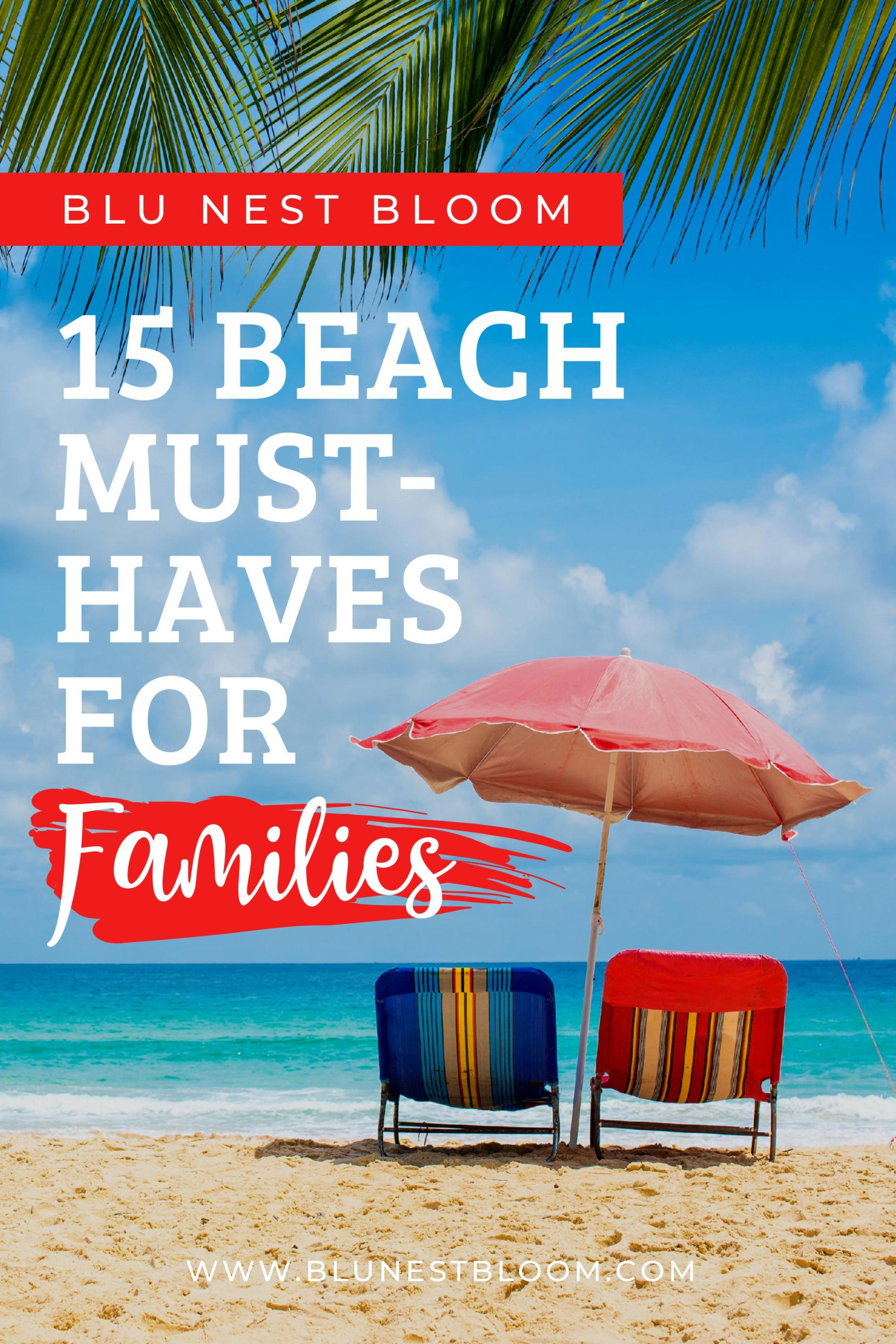15 Beach Must-Haves For Families