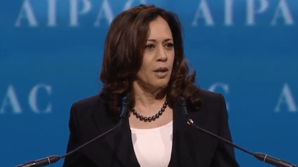 Sen. Harris Quiet as Civil Rights Group Throws Support ...