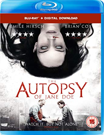 The Autopsy of Jane Doe blu ray review