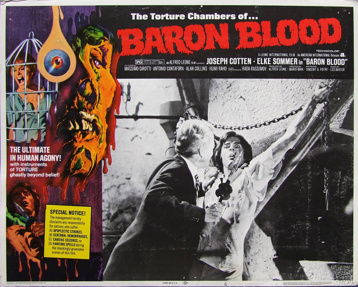 baron blood lobby card