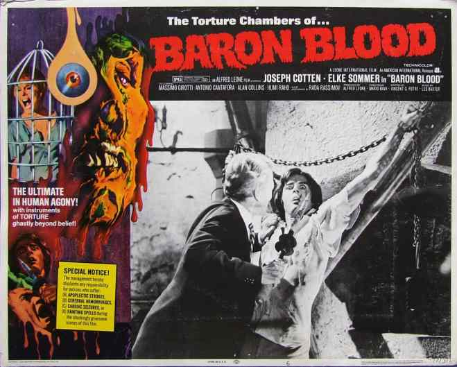 baron blood lobby card