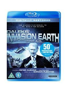 daleks invasion earth blu ray