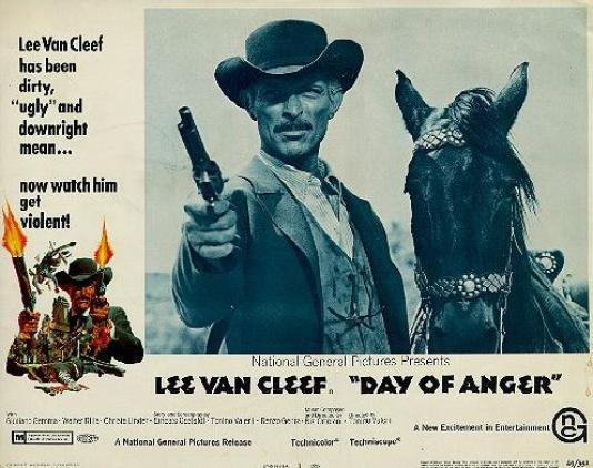 day of anger lobby card