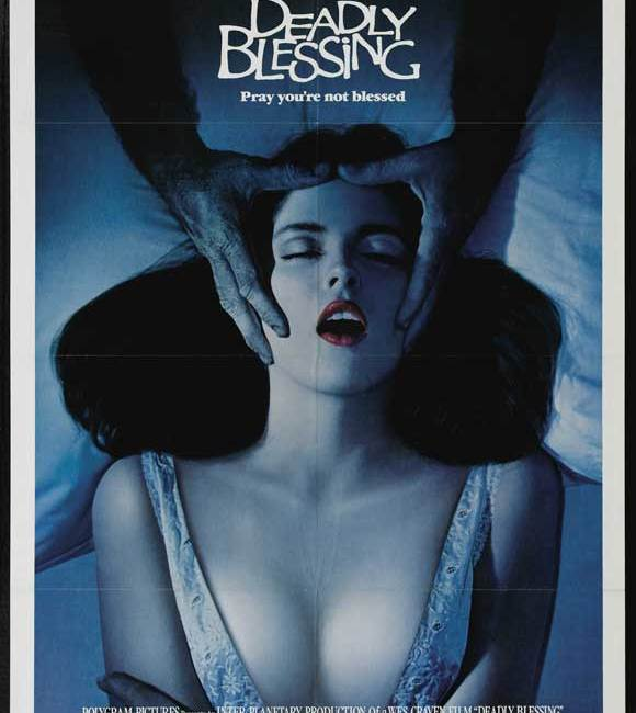 deadly blessing poster
