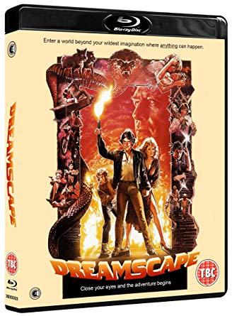 dreamscape blu ray review