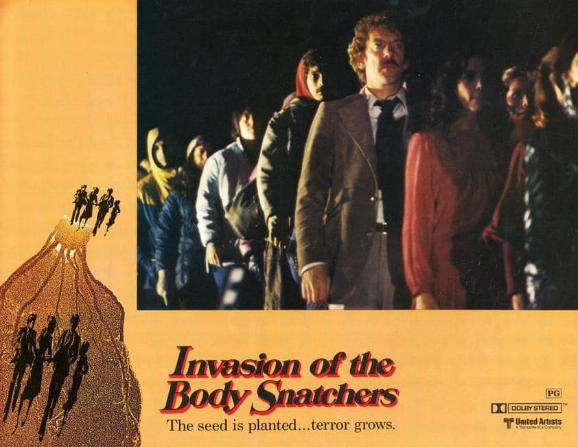 invasion of the body snatchers lobby card