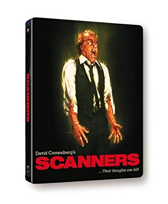 scanners blu ray steelbook