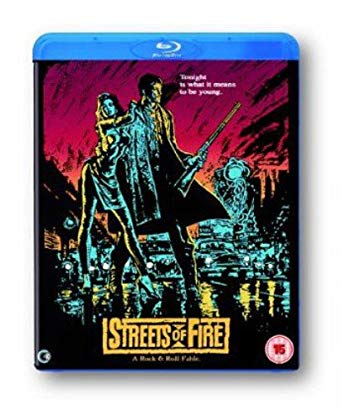 streets of fire blu ray