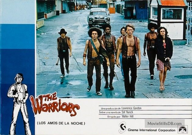 the warriors 1979 lobby card