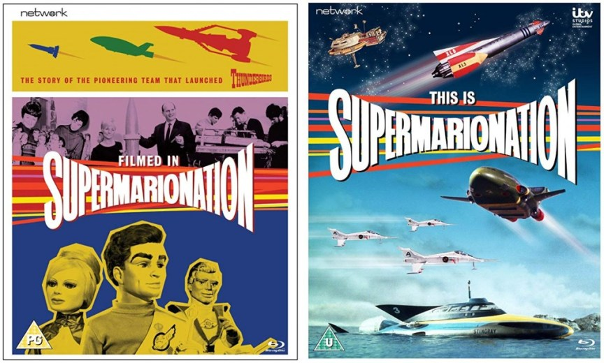 Filmed in Supermarionation / This is Supermarionation blu ray