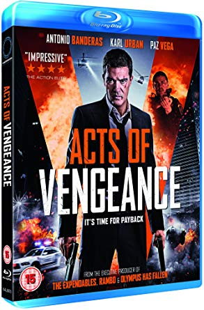 acts of venfgence blu ray
