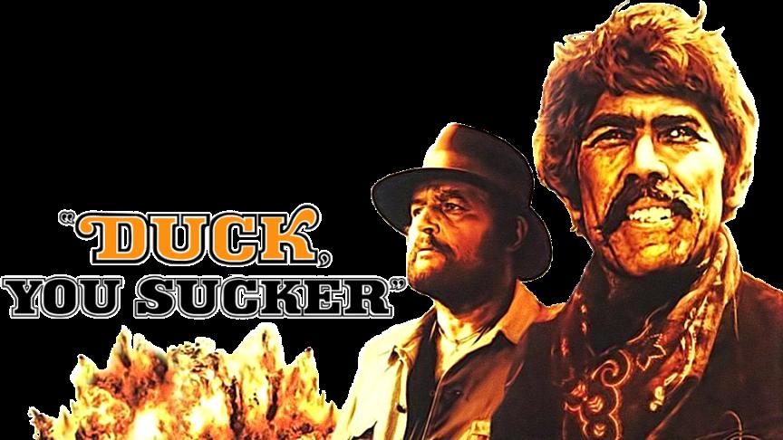Duck You Sucker Poster