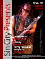 Sin City Presents Magazine November 2014