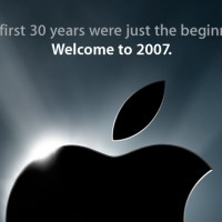 iPhone announcement 2007