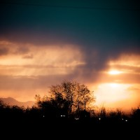 Sunset Storm - Salt Lake City | Blurbomat.com